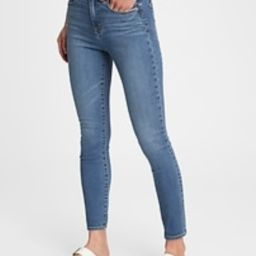 High Rise True Skinny Jeans with Secret Smoothing Pockets with Washwell™ | Gap (US)