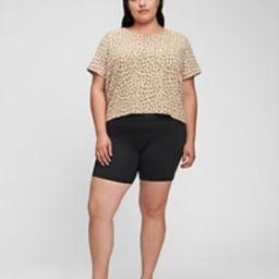 Relaxed Cropped Print Pocket T-Shirt | Gap (US)