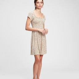Smocked Mini Dress   Gap (US)