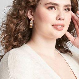 Pumpkin Spice Statement Earrings | Lane Bryant (US)
