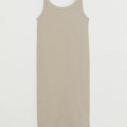 Ribbed Jersey Dress   H&M (US)