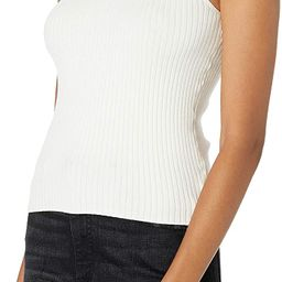 The Drop Women's Karolina Sleeveless Mock Neck Rib Sweater | Amazon (US)