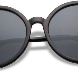 SOJOS Vintage Round Sunglasses for Women Classic Retro Designer Style SJ2121 | Amazon (US)