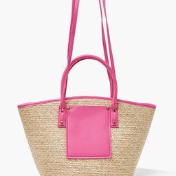 Basketwoven Tote Bag | Forever 21 (US)