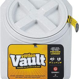 Gamma2 Vittles Vault Outback Stackable 40 lb Airtight Pet Food Storage Container   Amazon (US)