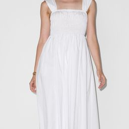 Ida square-neck midi dress | Farfetch (US)