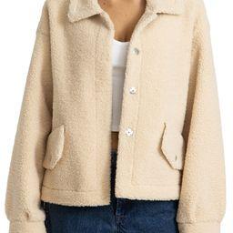 Bonded Faux Shearling Jacket | Nordstrom | Nordstrom