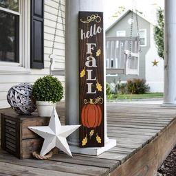 Hello Fall porch sign  I  Fall sign I  Fall decor I  Porch | Etsy | Etsy (US)