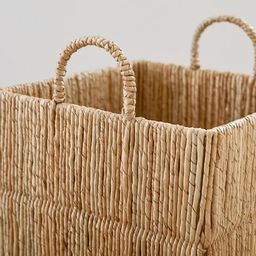 Malibu Woven Baskets   Pottery Barn (US)