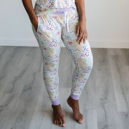 Flower Fields Women's Bamboo Viscose Pajama Pants - FINAL SALE   Little Sleepies