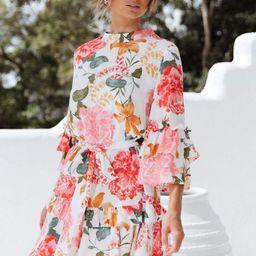 Peta Dress - White | Petal & Pup (US)