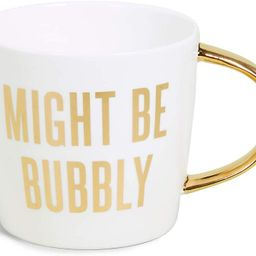 Creative Brands Slant Collections 14-Ounce Coffee Mug, Might Be Bubbly | Amazon (US)