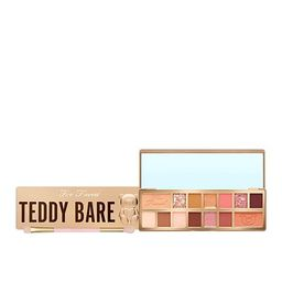Too Faced Teddy Bare Eye Shadow Palette and Eye Shadow Brush | HSN