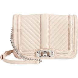 Chevron Quilted Small Love Leather Crossbody Bag | Nordstrom | Nordstrom Canada