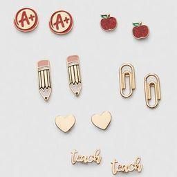 Back To School Earrings 6-Pack | Lane Bryant (US)