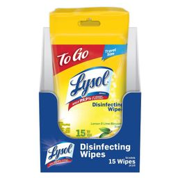 Lysol Disinfecting Wipes - Lemon and Lime Blossom | Target