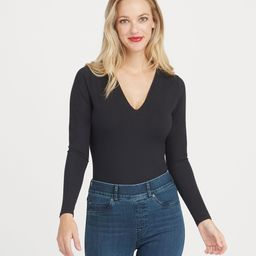 Suit Yourself Long Sleeve Thong Bodysuit | Spanx