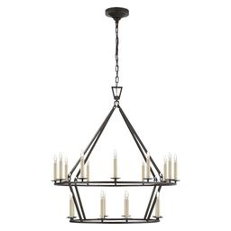 Darlana Two-Tiered Ring Chandelier | McGee & Co.