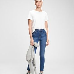 The Gen Good High Rise True Skinny Jeans With Washwell™ | Gap (US)