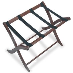 Winsome Wood Scarlett Luggage Rack, Walnut Finish | Walmart (US)