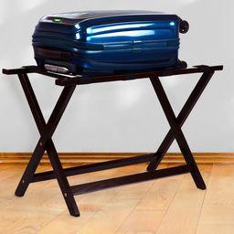"Casual Home Heavy Duty 30"" Extra Wide Luggage Rack-Espresso | Walmart (US)"