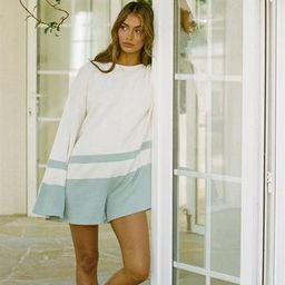 Mersy Knit Playsuit | SABO SKIRT (Global)