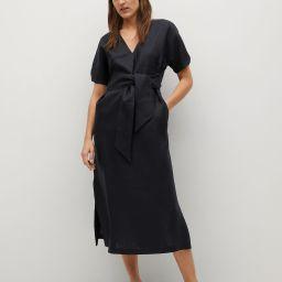 100% linen dress | MANGO (US)