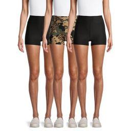 No Boundaries Juniors' Crop Shorts, 3 Pack   Walmart (US)