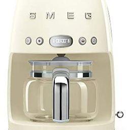 Smeg Retro Style Coffee Maker Machine, 17.3 x 12.8 x 11.3, Cream   Amazon (US)