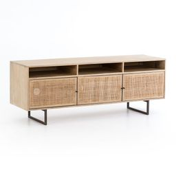 """Dolores 65"""" Cane Media Console 