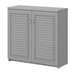 Bush Furniture Fairview Small Storage Cabinet with Doors and Shelves   Walmart (US)