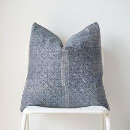 Hmong Batik gray Indigo Pillow Cover | Etsy | Etsy (US)