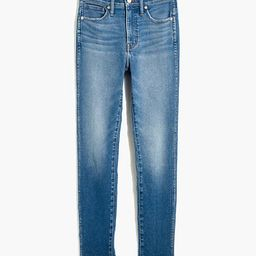 """10"""" High-Rise Skinny Crop Jeans in Sheffield Wash   Madewell"""