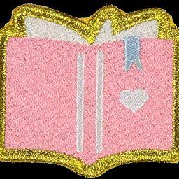 Book Sticker Patch   Stoney Clover Lane