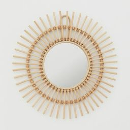 Mirror with Rattan Frame   H&M (US)