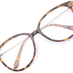 Gaoye Blue Light Blocking Glasses Women/Men, Fashion Round Cateye Frame UV Ray Filter Computer Ga...   Amazon (US)