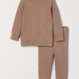 Ribbed Cotton Set | H&M (US)