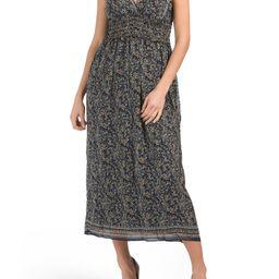 Sleeveless Printed Maxi Dress | Day Dresses | Marshalls | Marshalls