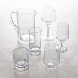 Happy Hour Acrylic Drinkware Collection | Pottery Barn (US)
