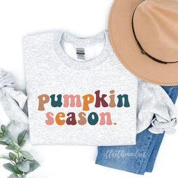 Pumpkin Season Sweatshirt  Fall Sweatshirt  Halloween | Etsy | Etsy (US)