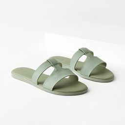 Modern Slide Sandals   LOFT
