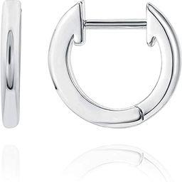 PAVOI 14K Gold Plated Cuff Earrings Huggie Stud   Small Hoop Earrings for Women   Amazon (US)