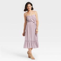 Women's Sleeveless Clip Dot Dress - Knox Rose™ | Target