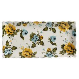 The Pioneer Woman Floral Medley 3-Piece Serving Platters | Walmart (US)
