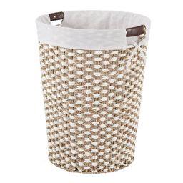 Better Homes & Gardens Braided Seagrass Laundry Hamper | Walmart (US)