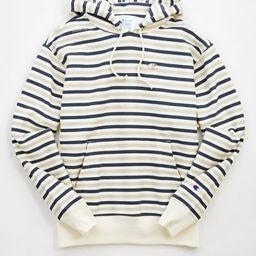 Champion Reverse Weave Striped Hoodie Sweatshirt   Urban Outfitters (US and RoW)