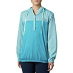 Columbia Women's Plus Size Tamiami Hoodie, Clear Water/Light Mint, 1X   Amazon (US)