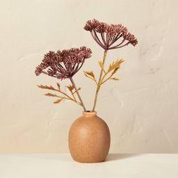 Faux Bleached Purple Achillea Flower Plant Arrangement - Hearth & Hand™ with Magnolia   Target
