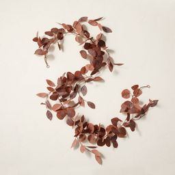 6' Faux Rusted Eucalyptus Plant Garland - Hearth & Hand™ with Magnolia   Target