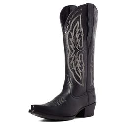 Heritage X Toe Elastic Wide Calf Western Boot | Ariat (EU)